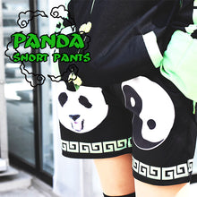 I read an image to a gallery viewer, A Panda Short Pants