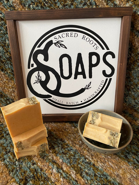 Lemon Lavender Goat Milk Soap