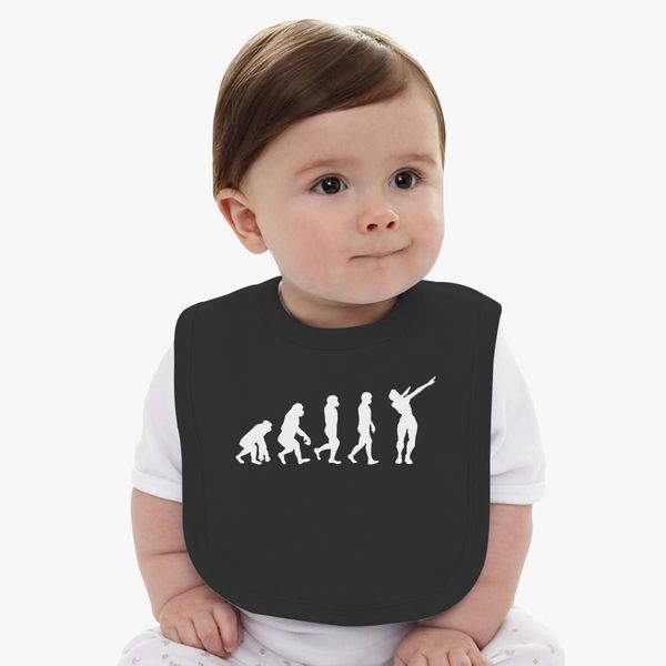 Baby wearing dress of evolution