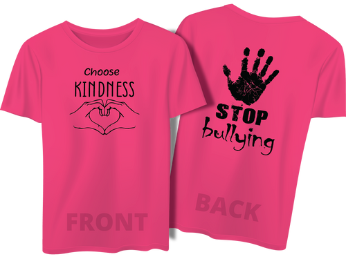 Pink Shirt Day - Front and Back