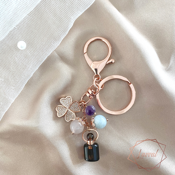 LUCKY RECHARGER BAG CHARM/KEY CHAIN