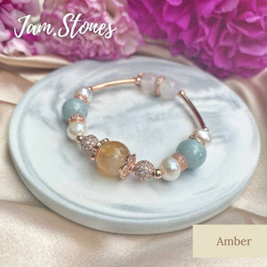 Amber (Luck, Healing, Wealth and Happiness )