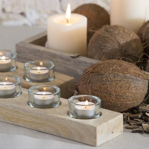 portavelas velas tea light
