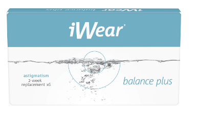 iWear Balance Plus Toric Contact Lenses (6 Pk)