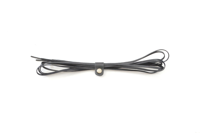 ORIGINAL SHOE LACE FLAT COTTON BLACK 150cm