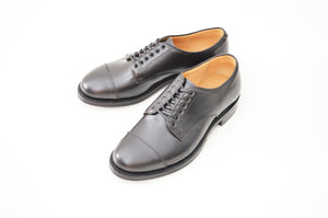 #15073 STRAIGHT TIP BLUCHER BLACK