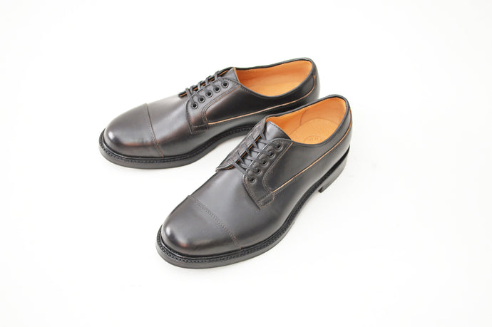 #15065 STRAIGHT TIP OXFORD BLACK