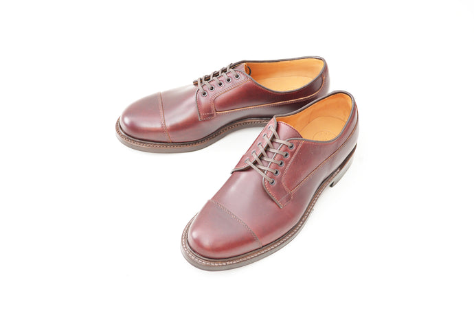 #15065 STRAIGHT TIP OXFORD BURGUNDY
