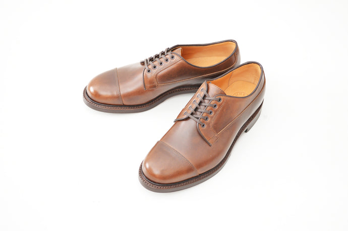 #15065 STRAIGHT TIP OXFORD BROWN