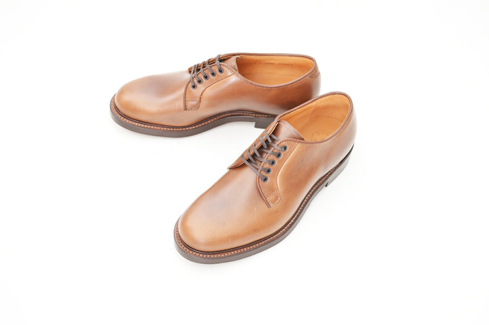 #15066 PLAIN TOE BLUCHER NATURAL