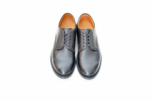 #15075 PLAIN TOE DERBY BLACK