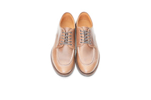 #15078 HEAVY STITCHING MOC TOE NATURAL