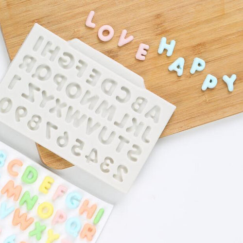 Alphabet Silicone Mould