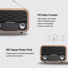 Load image into Gallery viewer, Retro Speaker & FM Radio