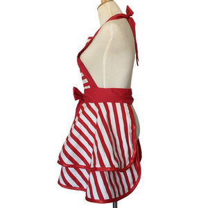 Retro Stripes Cooking Apron