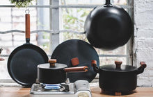 Load image into Gallery viewer, Cast Iron Cookware (5Pcs)