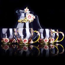 Load image into Gallery viewer, Crystal Coffee/Tea Set (5pcs)