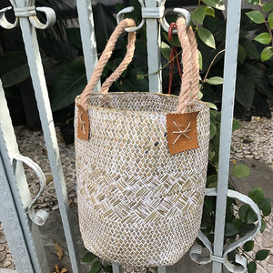 Natural Seagrass Basket