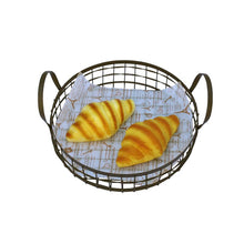 Load image into Gallery viewer, Iron Breathable Bread Basket