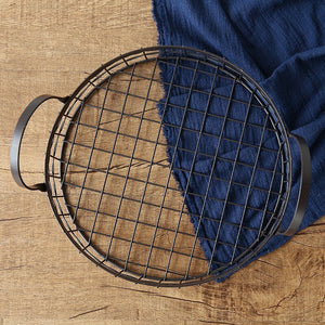 Iron Breathable Bread Basket