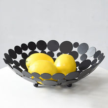 Load image into Gallery viewer, Dotted Metal Display Bowl