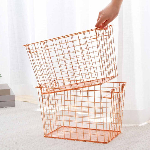 Nordic Iron Shopping Basket
