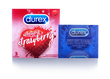DUREX SENSUAL STRAWBERRY 3s
