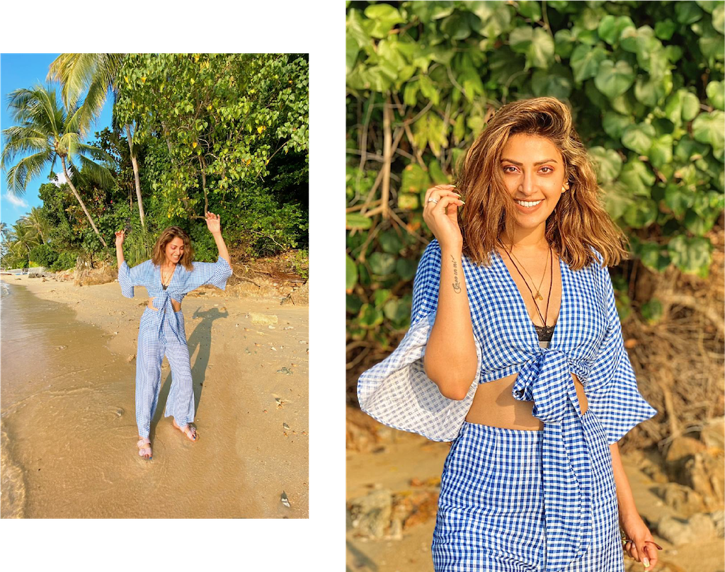 Anushka in Summer Somewhere Two-Piece Set
