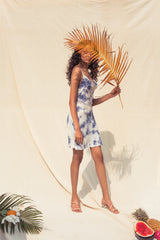 Andrea Slip Tie Dye Dress