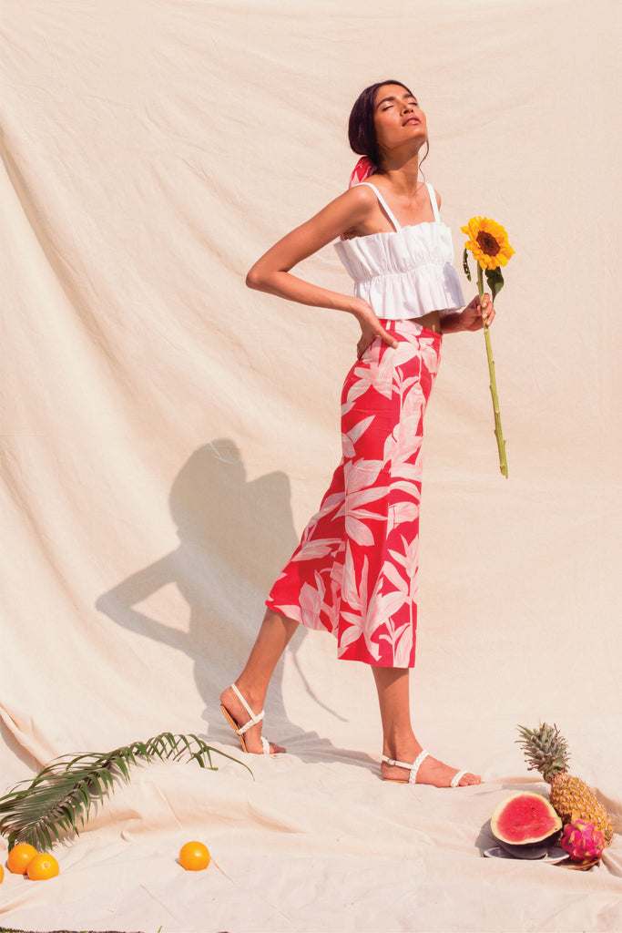 Summer Somewhere Sophia Cropped Pant