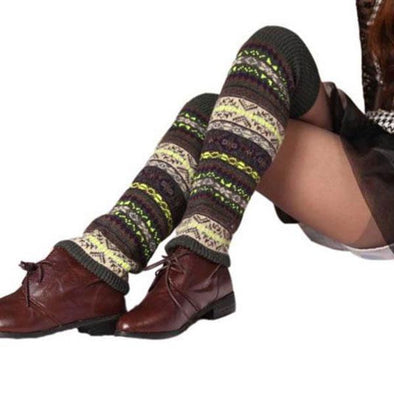 1pair Knit Leg Warmers - Wander Wild Boutique