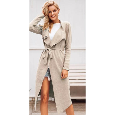 Belted Cardigan - Wander Wild Boutique