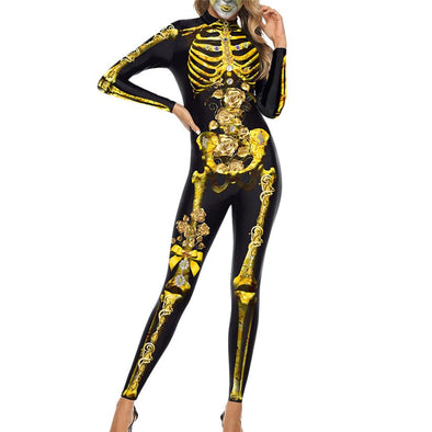 Golden Skeleton - Wander Wild Boutique