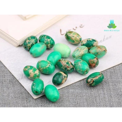 Sea Sediment Jasper Rice Beads - Wander Wild Boutique
