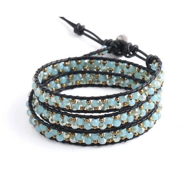 Triple Wrapped Bracelet - Wander Wild Boutique