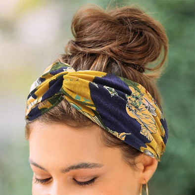 Wide Stretch Headbands - Wander Wild Boutique