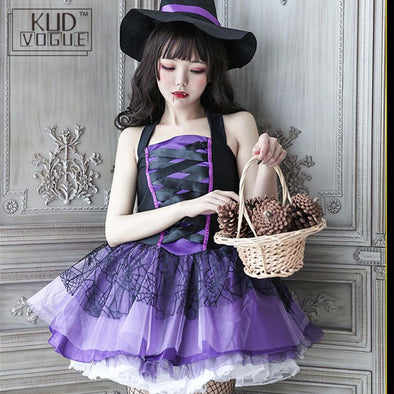 Witch Costume With Witch Hat (Adult Size) - Wander Wild Boutique