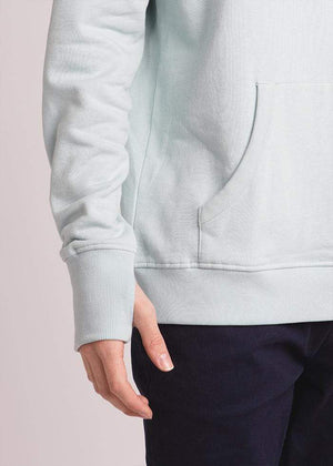 TeenzShop  Boys Blue Embroidered logo Hoodie