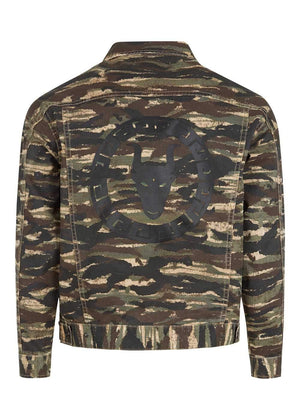 TeenzShop  Boys Camo Jacket
