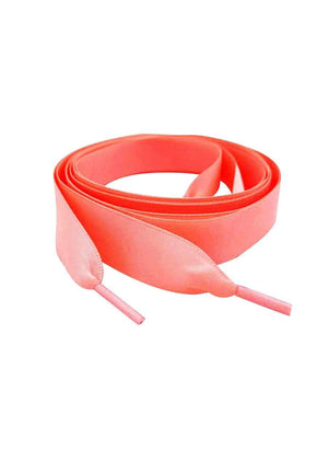 Coral Satin ribbon shoelace Belt-TeenzShop