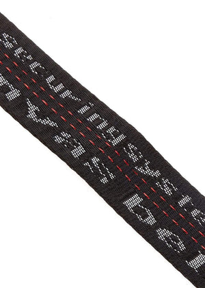 TeenzShop  Boys Black D-ring Tape Belt