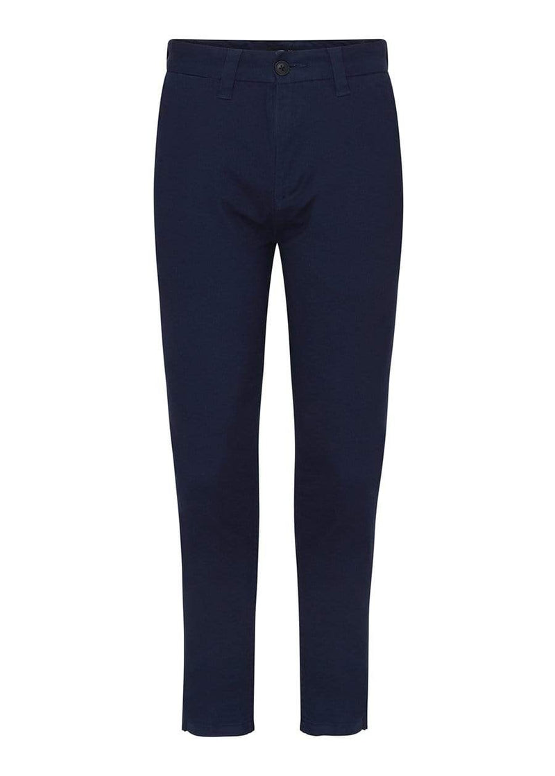 Boys Navy Basic Skinny Chino Pants