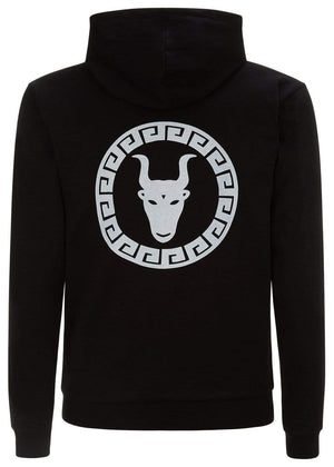Teenzshop  Boys Black Zip-Up Toro Hoodie