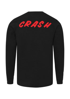 Boys Long Sleeve Slogan T-Shirt Red-TeenzShop