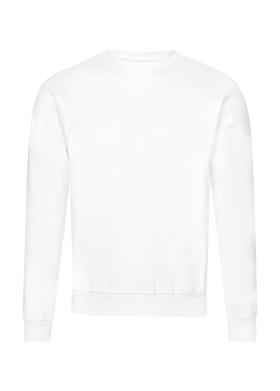 Youth Boys White & Black Thunderbolt Sweatshirt-TeenzShop