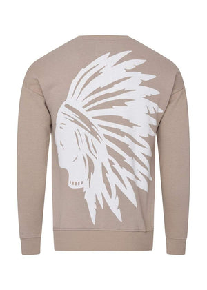 TeenzShop  Boys Taupe Chieftain SweatShirt