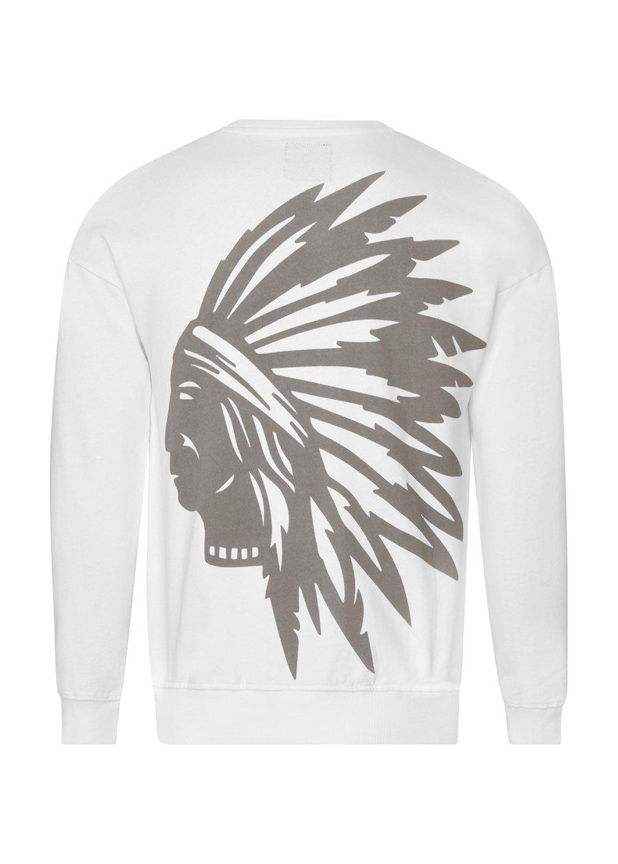 Girls White Chieftain SweatShirt-TeenzShop