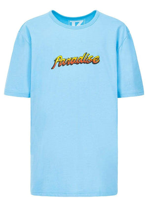 TeenzShop  Boys Light Blue Paradise T-shirt
