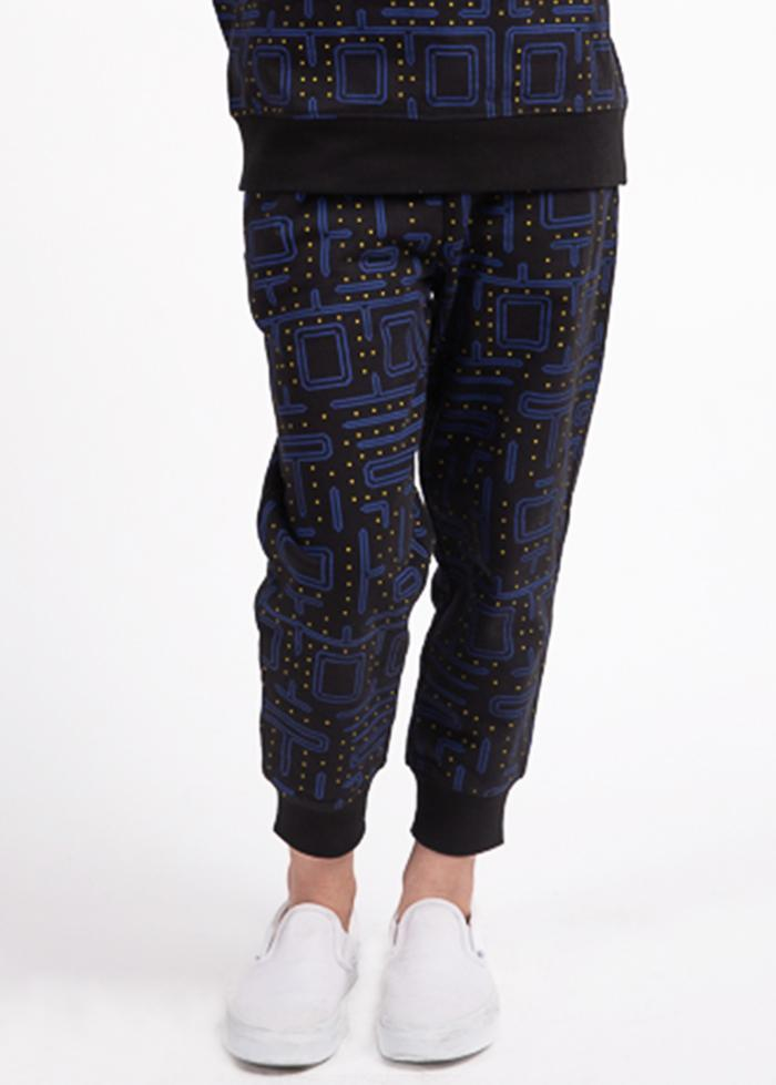 Girls Vintage Video Game Sweatpants