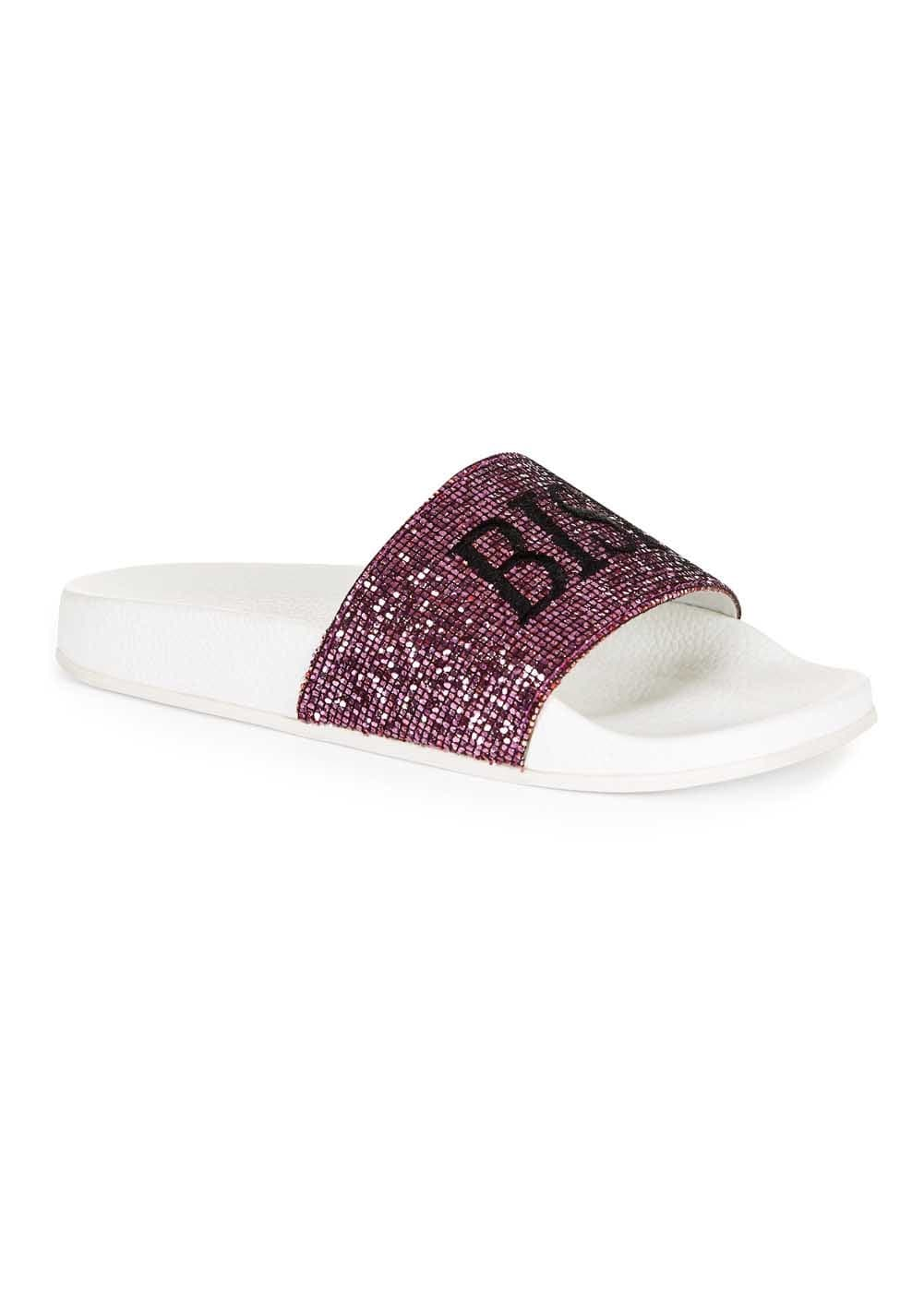 Girls Bish Please Pool Sliders-TeenzShop